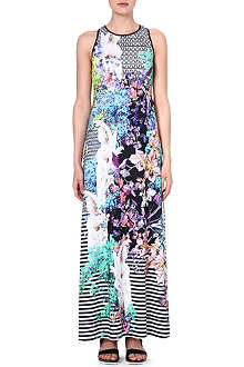 CLOVER CANYON Enchanted Garden maxi dress