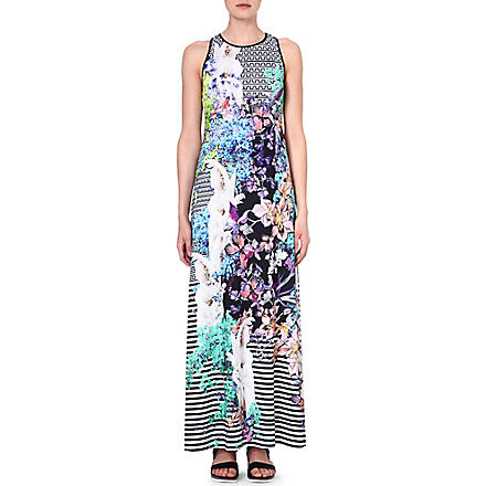 CLOVER CANYON Enchanted Garden maxi dress (Multi