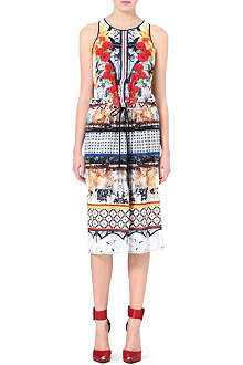 CLOVER CANYON Cigar Granny patterned dress