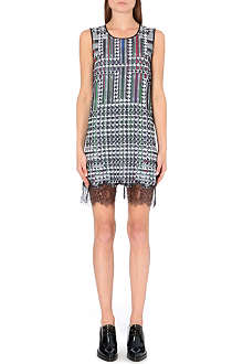 CLOVER CANYON Trinity College lace-trim dress
