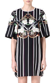 CLOVER CANYON Instrumental Stripe dress