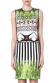 CLOVER CANYON Huntington Gardens neoprene dress