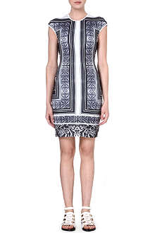CLOVER CANYON Marble print body dress