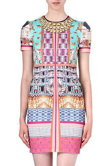 CLOVER CANYON Taj Mahal bodycon dress