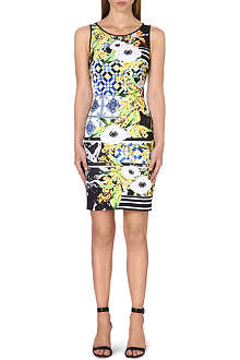 CLOVER CANYON Greek Tiles neoprene dress