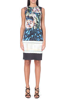 CLOVER CANYON James Joyce printed neoprene dress