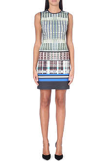 CLOVER CANYON Donegal printed neoprene dress