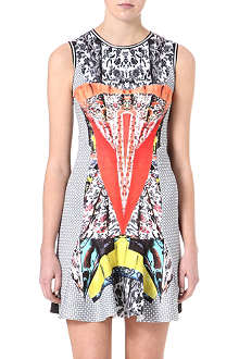 CLOVER CANYON Bodycon floral dress