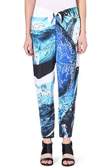 CLOVER CANYON Zodiac signs trousers