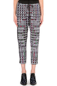 CLOVER CANYON Trinity College stretch-crepe trousers