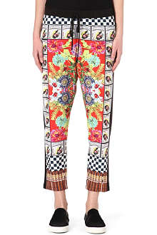 CLOVER CANYON Cuban printed trousers