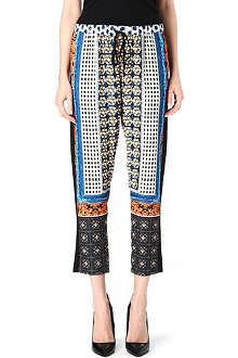 CLOVER CANYON Guilded Gemstones trousers