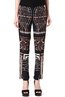 CLOVER CANYON Gatsby trousers