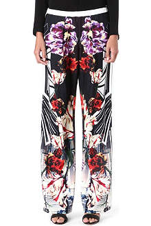 CLOVER CANYON Deco City printed trousers