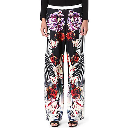 CLOVER CANYON Deco City printed trousers (Multi