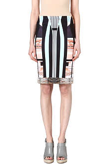 CLOVER CANYON Desert Home pencil skirt