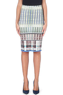 CLOVER CANYON Donegal neoprene pencil skirt