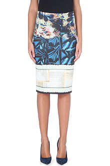 CLOVER CANYON James Joyce neoprene pencil skirt