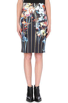 CLOVER CANYON George Bernard Shaw pencil skirt