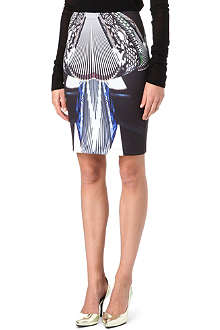 CLOVER CANYON Accordion Dance neoprene skirt