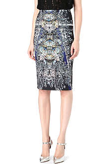CLOVER CANYON Russian Enamel bodycon skirt