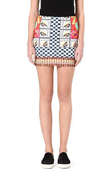CLOVER CANYON Cuban mini skirt