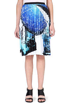 CLOVER CANYON Zodiac signs skirt