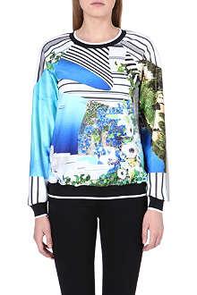 CLOVER CANYON Corfu swirl sweatshirt