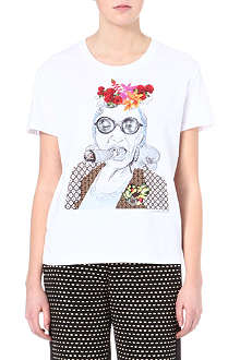CLOVER CANYON Smoking Granny t-shirt