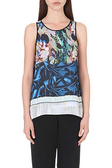 CLOVER CANYON James Joyce vest top