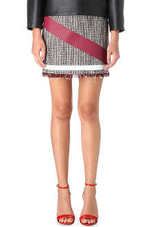 MSGM Tweed skirt