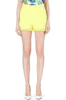 MSGM Frayed edge shorts