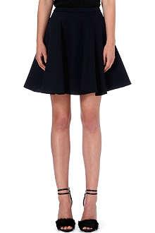 MSGM Flared neoprene skirt