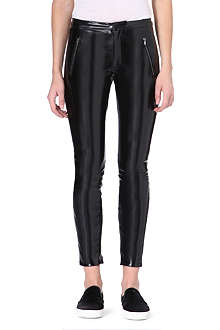 MSGM Vinyl legging trousers