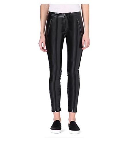 MSGM Vinyl legging trousers (Black