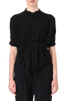 JNBY Semi-sheer chiffon shirt