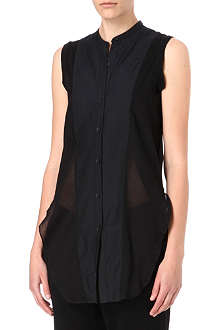 JNBY Panelled sleeveless shirt