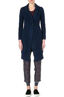 JNBY Contrast collar wool coat