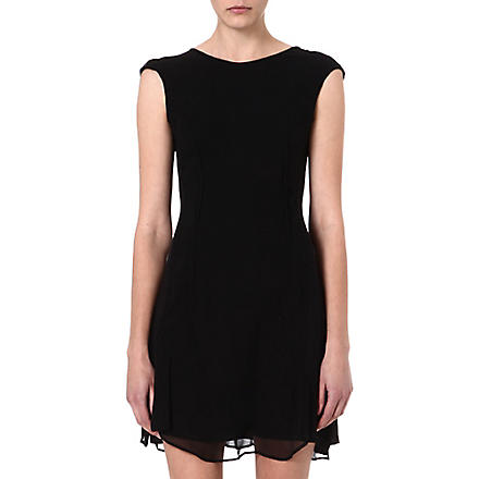 JNBY Sleeveless silk dress (Black