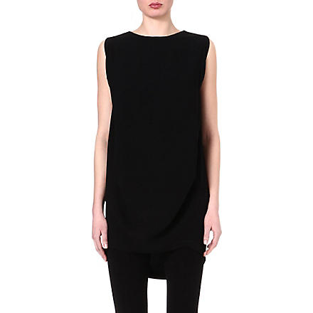 JNBY Cocoon sleeveless dress (Black
