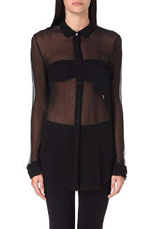 JNBY Sheer silk shirt