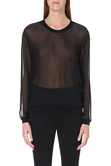 JNBY Sheer silk top