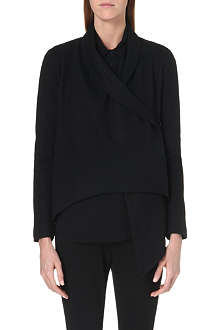JNBY Asymmetric short wool jacket