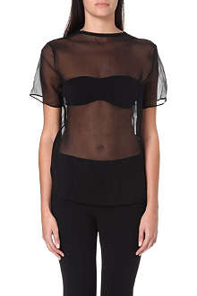 JNBY Sheer silk t-shirt