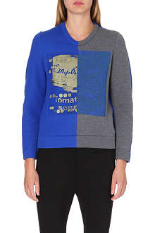 JNBY Artists contrast-panel sweatshirt
