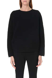 JNBY Cropped wool-blend jumper