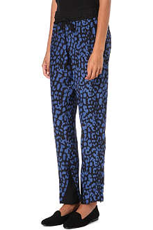 SEA Leopard-print trousers