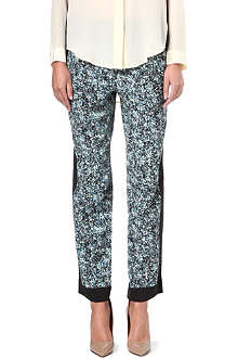SEA Floral-print trousers