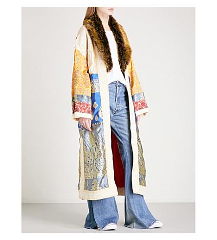 FREE PEOPLE Sari not sorry brocade kimono (Multi