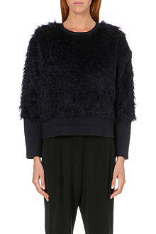 10 CROSBY Mohair-fur jumper